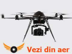Productie video prin drone