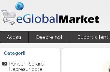 Panouri Solare eGlobalMarket